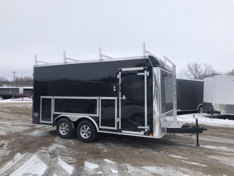 2020 United Trailers 8.5X16 Enclosed Tool Crib Cargo Trailer
