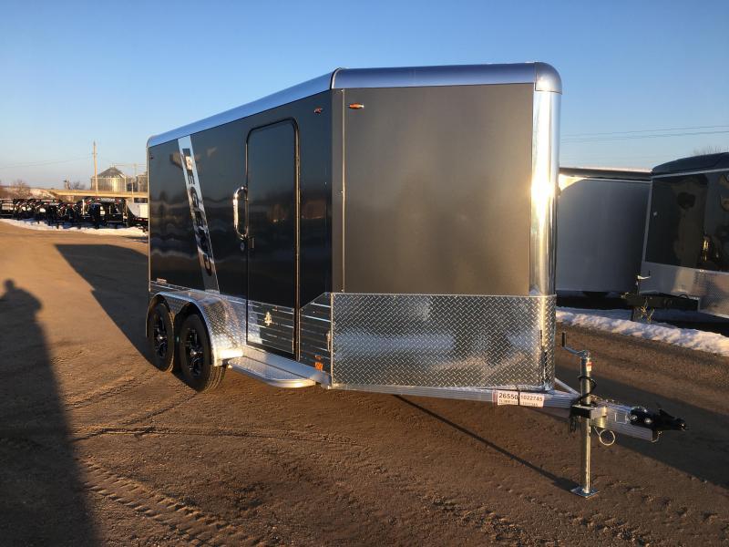 2020 Legend Manufacturing 7X12 Aluminum DVN Enclosed Cargo Trailer