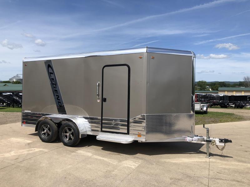 2020 Legend Manufacturing 7X14 DVN Aluminum Enclosed Cargo Trailer