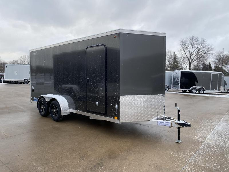 2020 Legend Manufacturing 7X16 Thunder Aluminum Enclosed Cargo Trailer