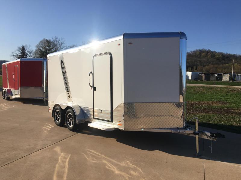 2019 Legend Manufacturing 7X14 DVN Aluminum Enclosed Cargo Trailer