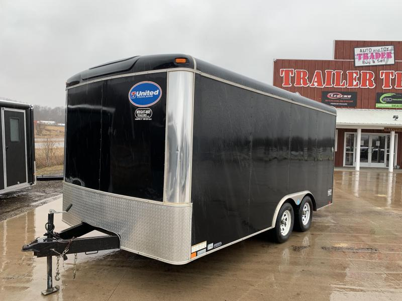 2014 United Trailers 8.5X16 Enclosed Cargo Trailer