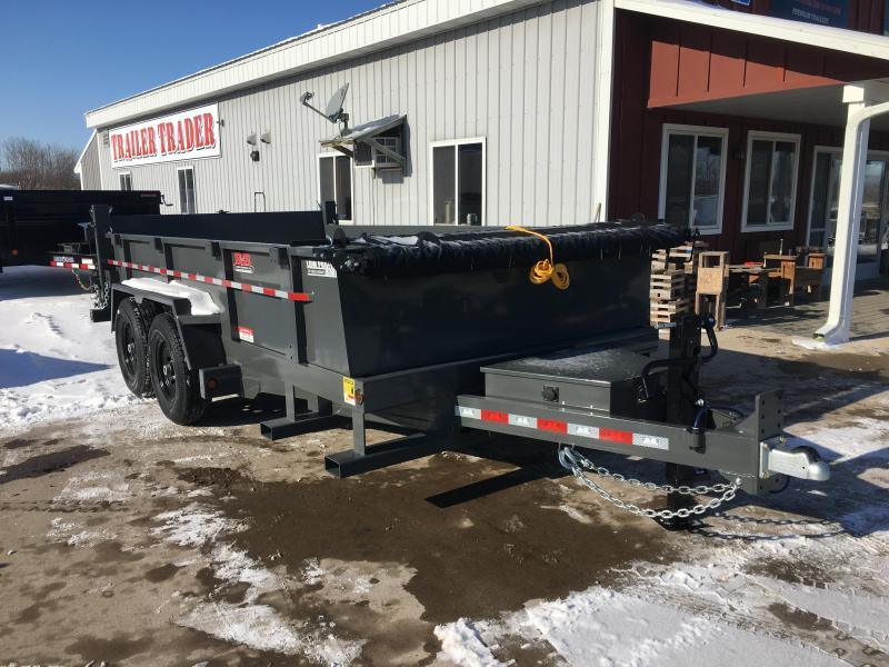 2020 B-B 83X14 Low Pro Dump Trailer