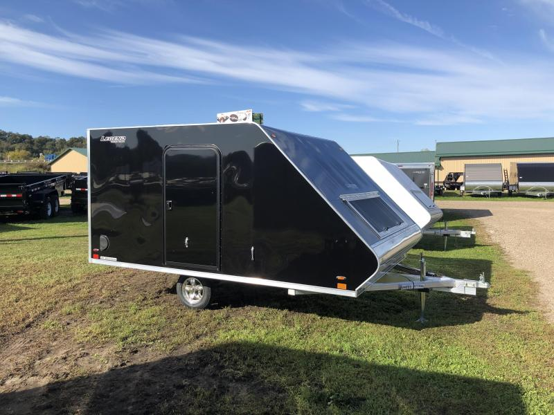 2020 Legend Manufacturing 101X12 Hybrid Snowmobile Trailer