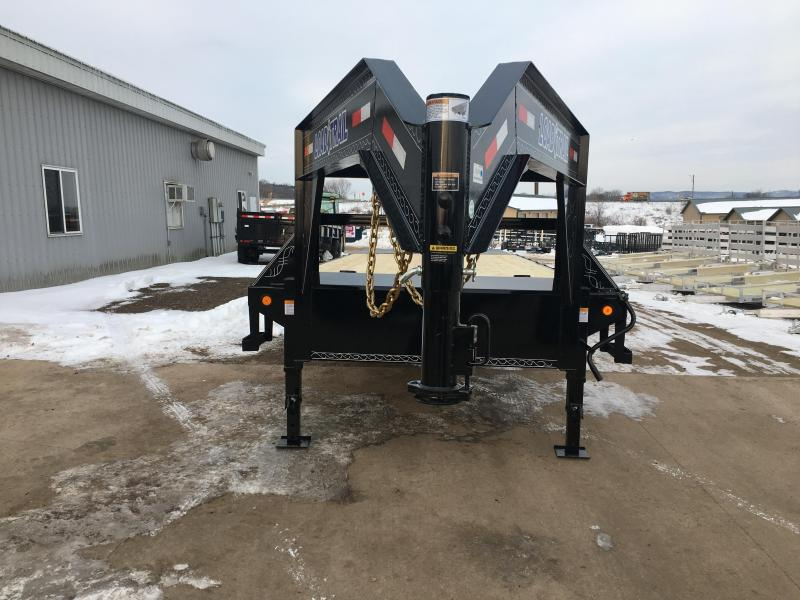 2020 Load Trail 102X25 Gooseneck Deckover Equipment Trailer