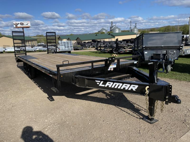 2020 Lamar Trailers 102X22 Deckover Equipment Trailer