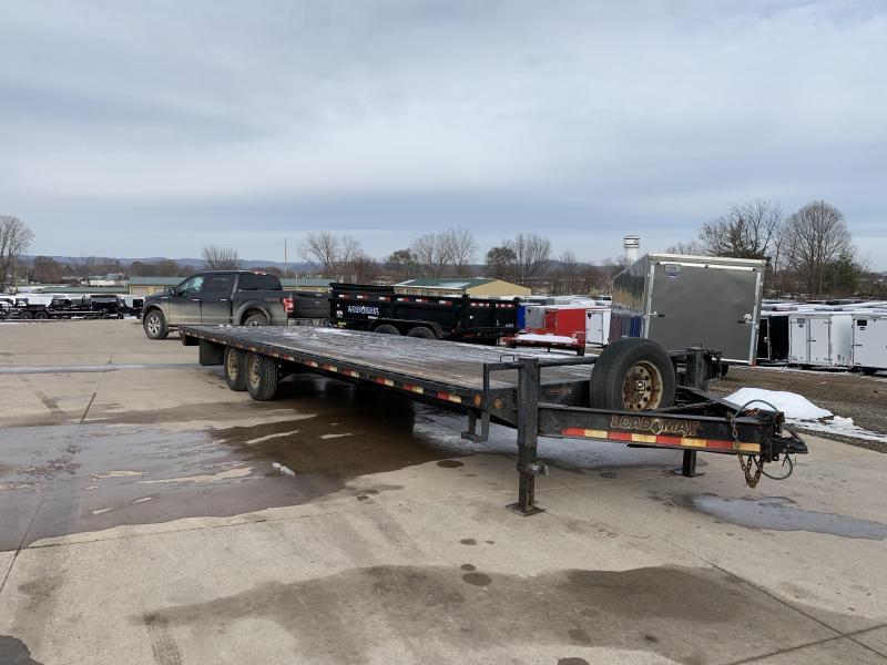 2015 Load Trail 102X28 Deckover Equipment Trailer