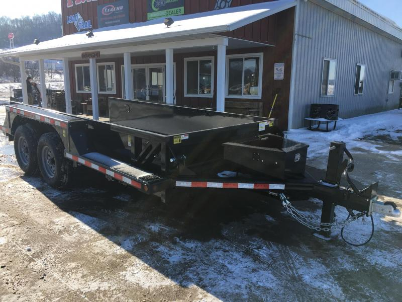2020 B-B 76X14 Drop Down Equipment Trailer