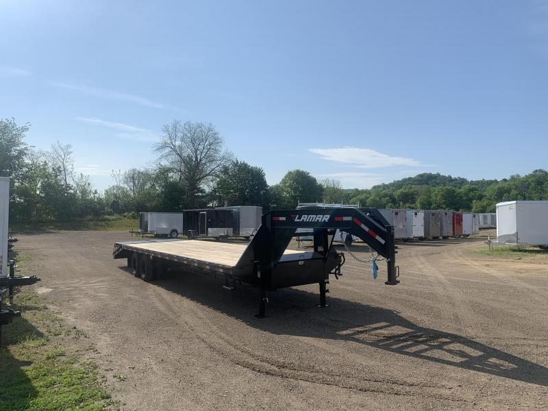 2020 Lamar Trailers 102X36 Gooseneck Deckover Equipment Trailer