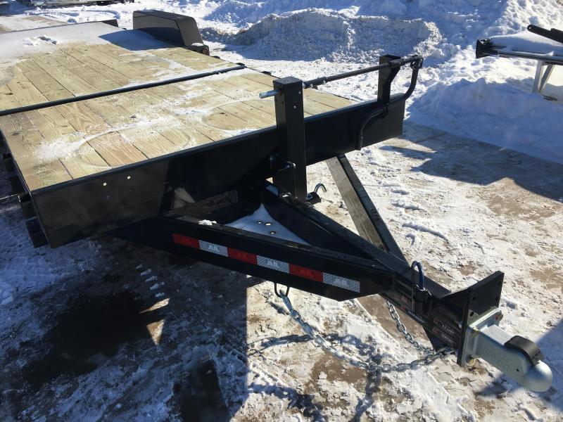 2020 B-B 83X24 Gravity Tilt Deck Equipment Trailer