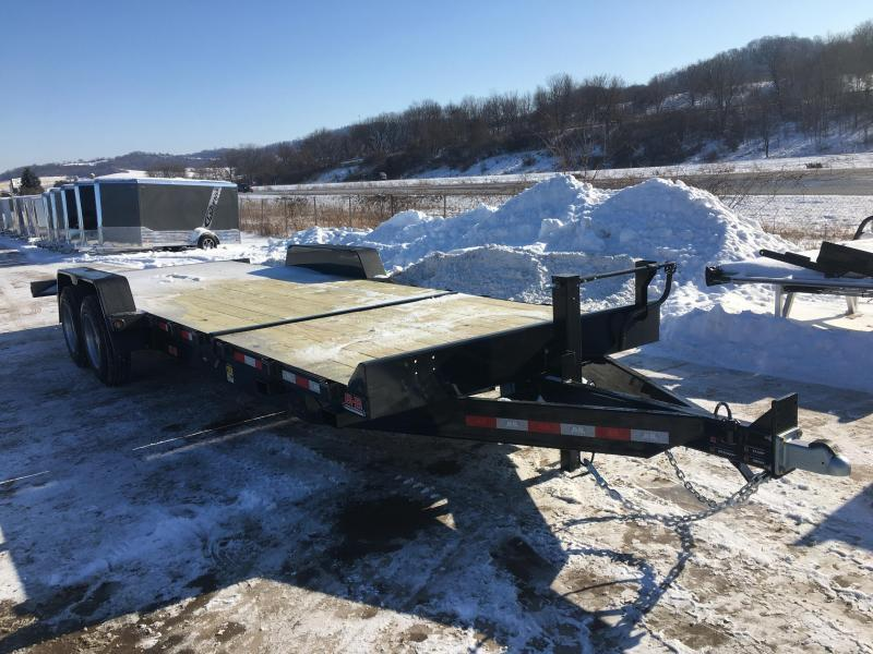 2020 B-B 83X24 Gravity Tilt Deck Equipment Trailer
