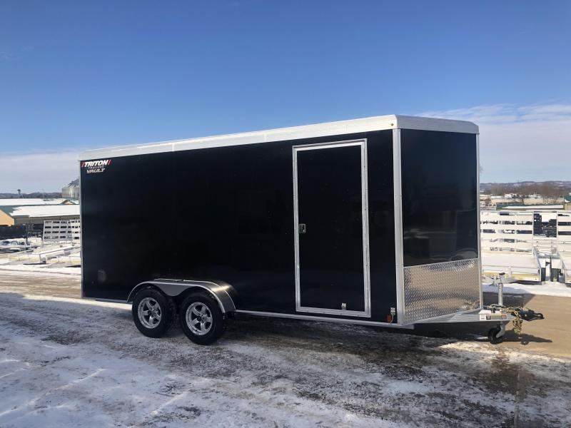 2020 Triton 7X16 Aluminum Enclosed Cargo Trailer