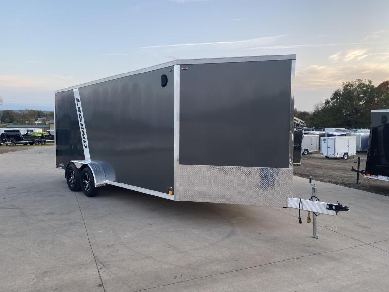 2020 Legend Manufacturing 7X23 Inline Snowmobile Trailer