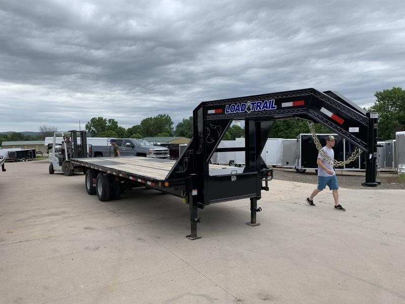 2019 Closeout Trailers 102X26 Load Trail Gooseneck Tilt Deck Equipment Trailer