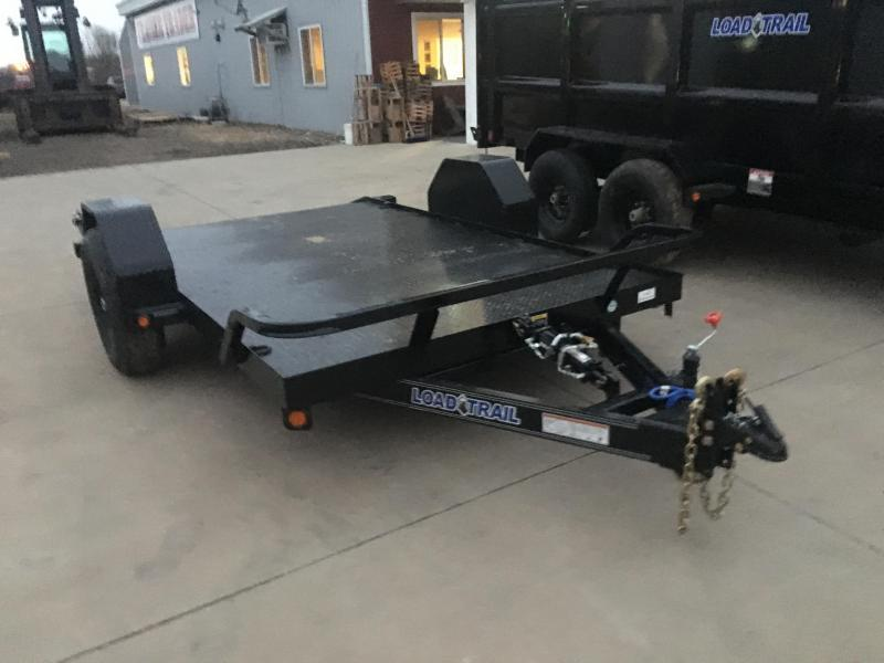 2020 Load Trail 77X12 Scissor Hauler Equipment Trailer