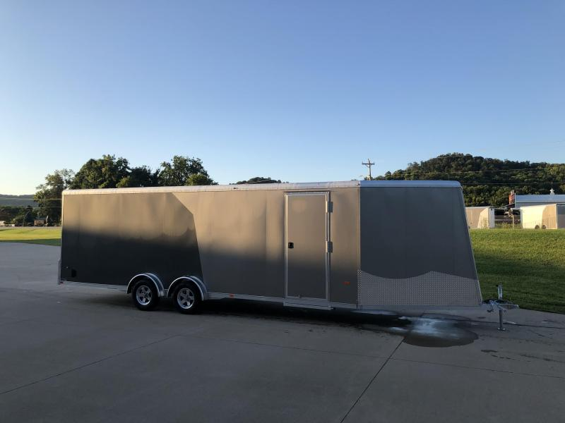 2020 NEO Trailers 7.5X29 Aluminum Snowmobile Trailer