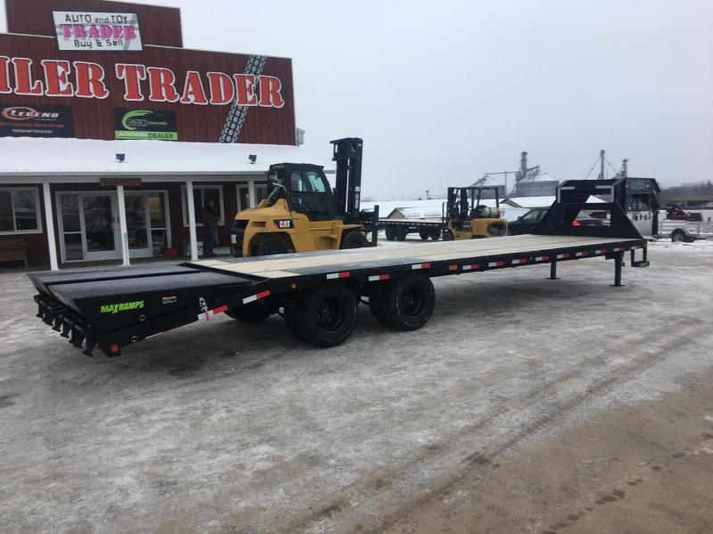 2020 Load Trail 102X30 Gooseneck Deckover Equipment Trailer