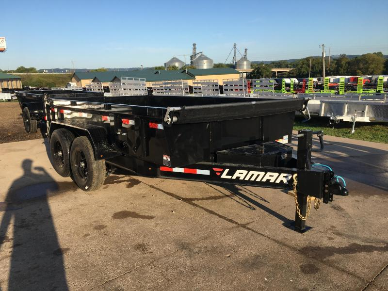 2020 Lamar Trailers 83X12 Low Pro Dump Trailer