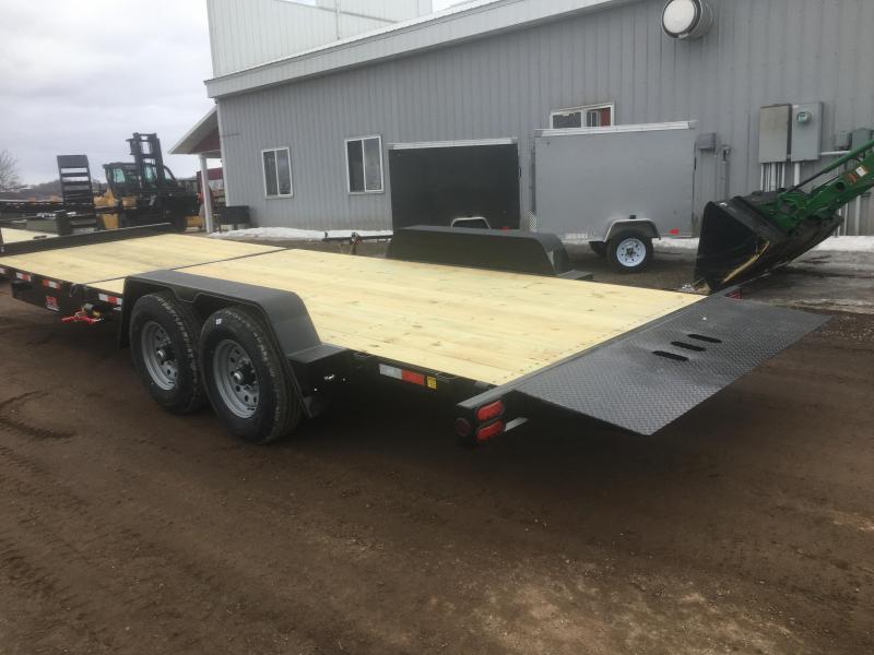 2020 B-B 83X24 Tilt Deck Equipment Trailer