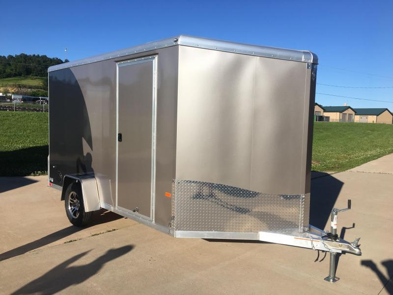 2019 NEO Trailers 7X12 Aluminum Enclosed Cargo Trailer