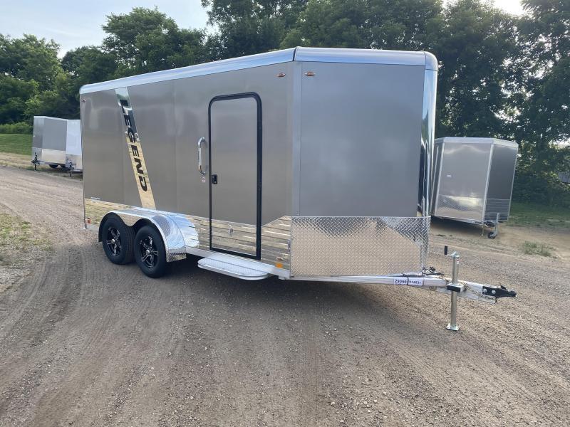 2020 Legend Trailers 7X14 Aluminum DVN Enclosed Cargo Trailer