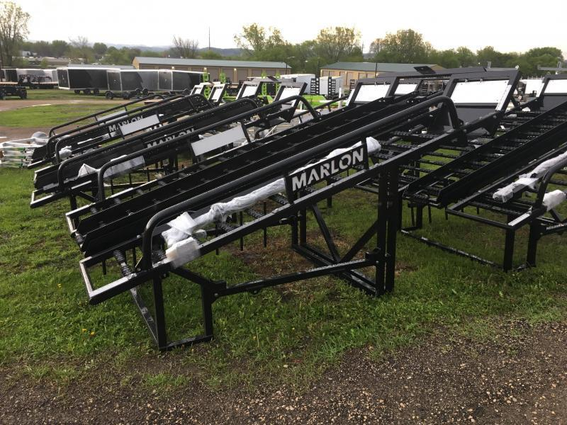 2019 Marlon Trailers 76X10 UTV Rack Truck Bed