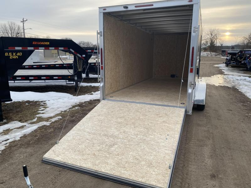 2020 Legend Manufacturing 7X16 Aluminum Thunder Enclosed Cargo Trailer