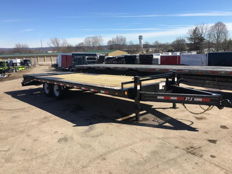 2020 PJ Trailers 102X24 Deckover Equipment Trailer