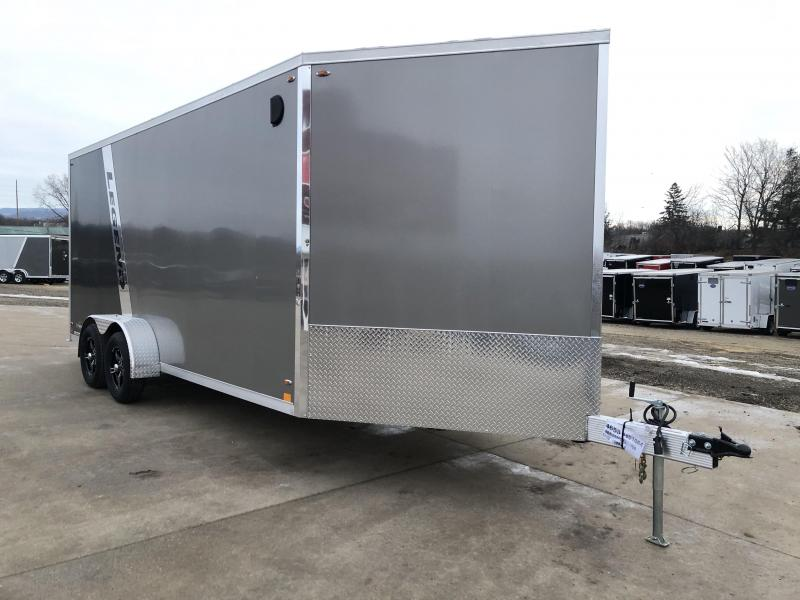 2020 Legend Manufacturing 7X23 Inline Snowmobile Trailer
