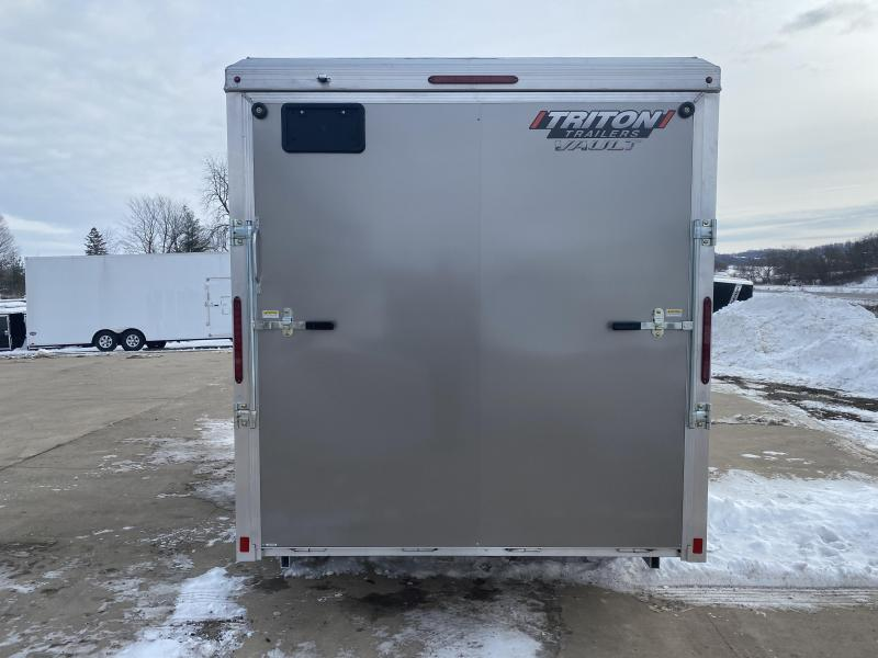 2020 Triton 7X14 Aluminum Enclosed Cargo Trailer