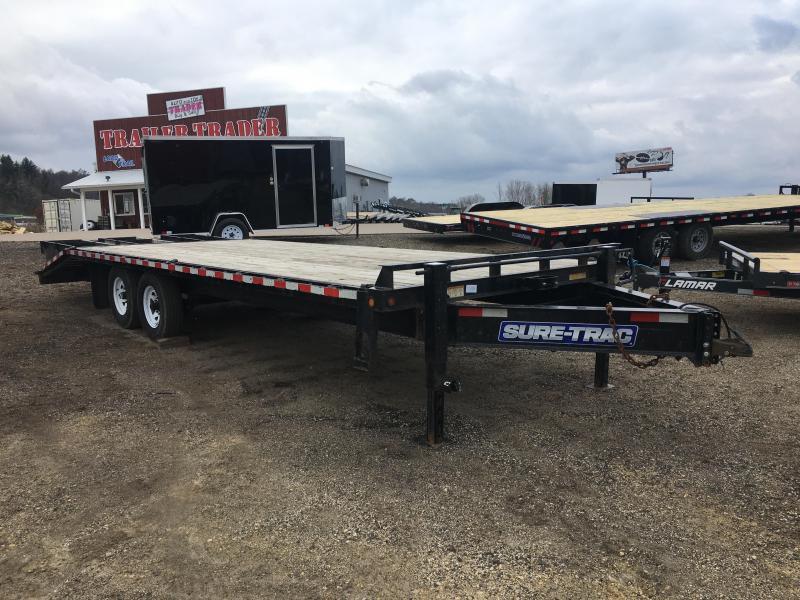 2015 Sure-Trac 102X25 Deckover Equipment Trailer