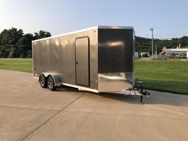 2019 Legend Manufacturing 7X18 Thunder Aluminum Enclosed Cargo Trailer