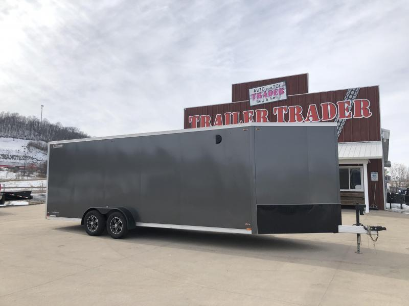 2018 Legend Manufacturing 7X27 Inline Snowmobile Trailer