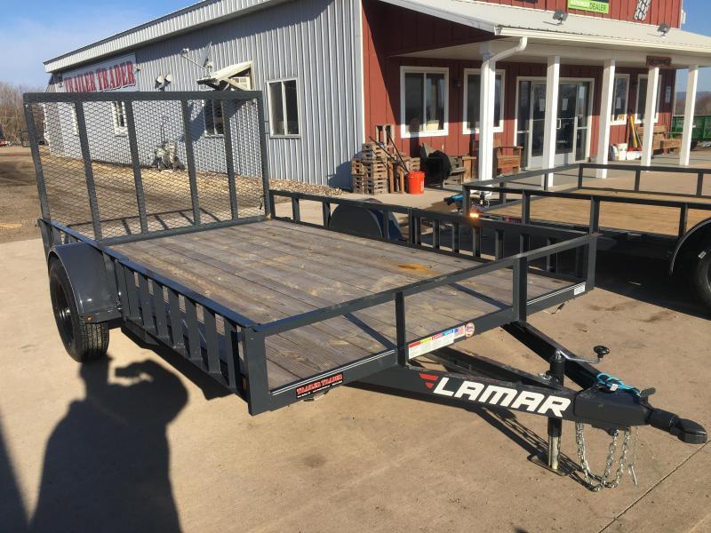 2020 Lamar Trailers 83X12 Utility Trailer