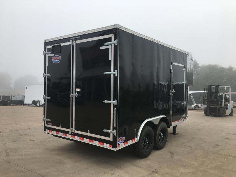2020 United Trailers 8.5X22 Gooseneck Enclosed Cargo Trailer
