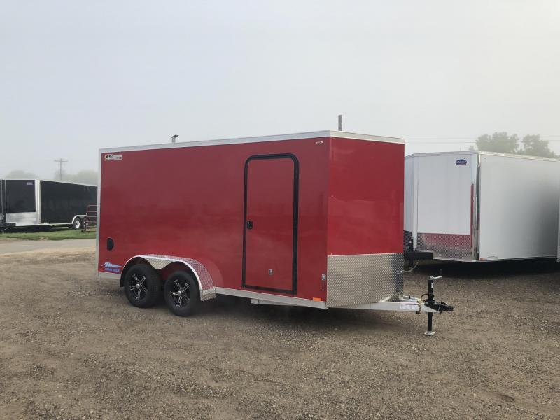 2019 Closeout Trailers 7X14 Legend Manufacturing Thunder Aluminum Enclosed Cargo Trailer