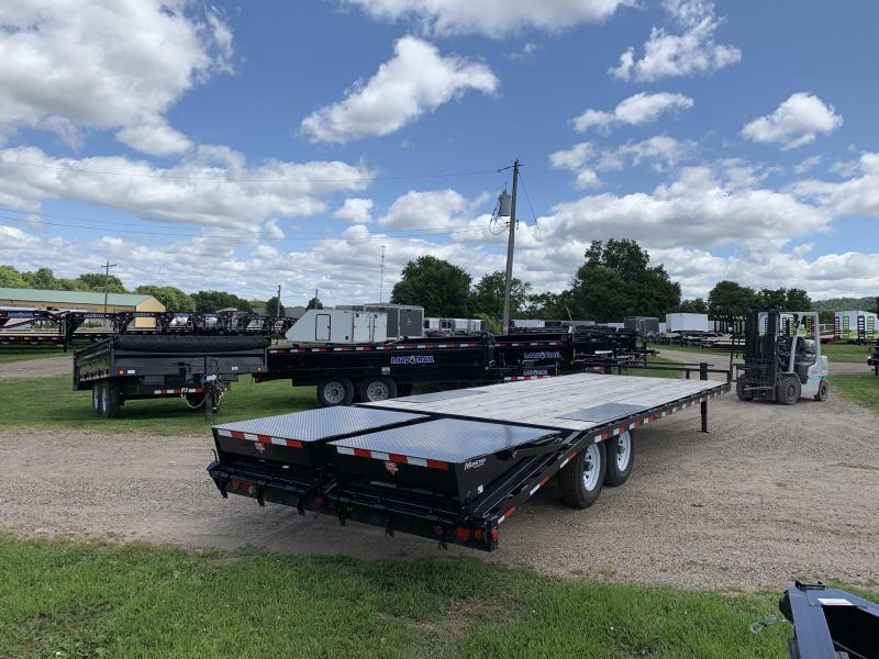 2020 PJ Trailers 102X26 Deckover Equipment Trailer