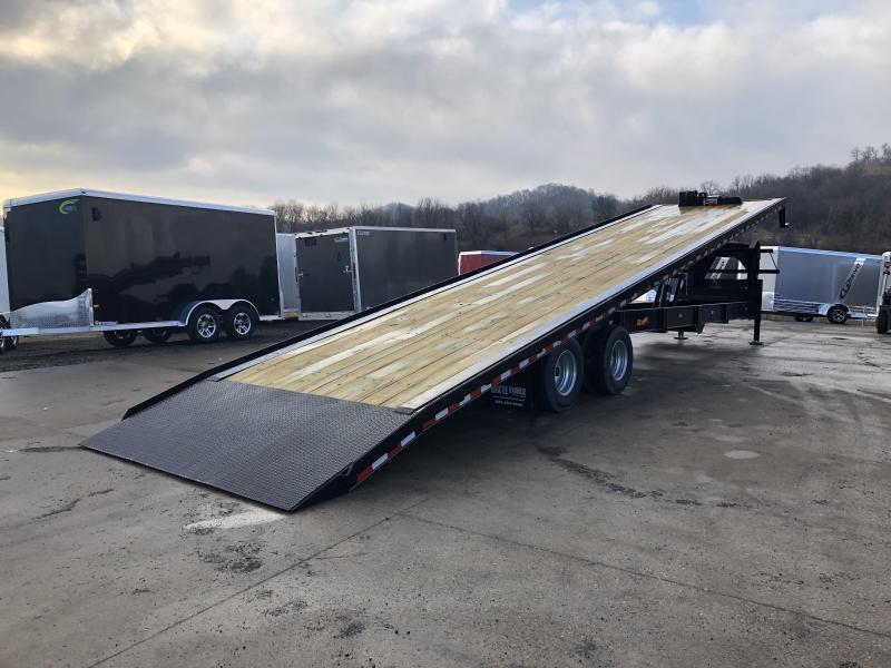 2019 Closeout Trailers 102X40 Doolittle Trailer Mfg Gooseneck Tilt Deck Equipment Trailer
