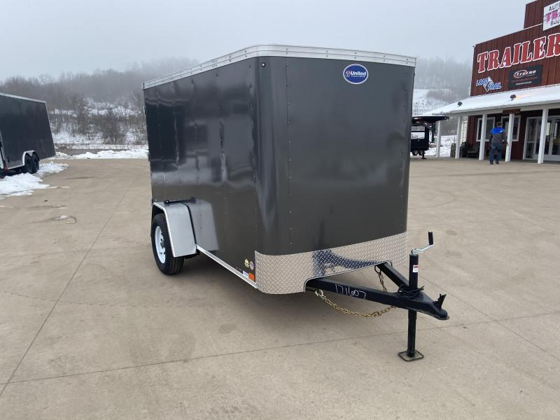 2020 United Trailers 5X10 Enclosed Cargo Trailer