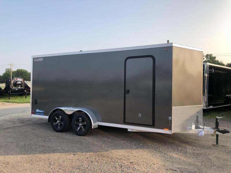 2019 Legend Manufacturing 7X16 Thunder Aluminum Enclosed Cargo Trailer