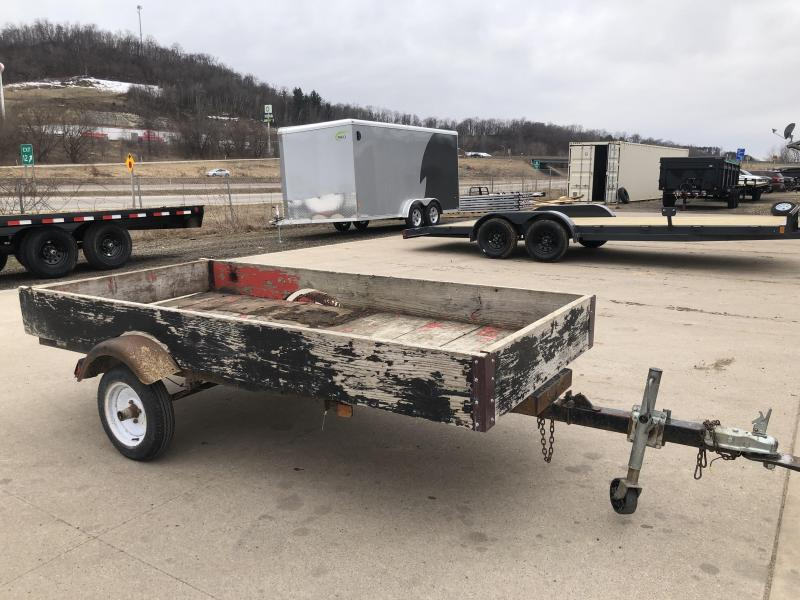 1999 Homemade 5X10 Utility Trailer