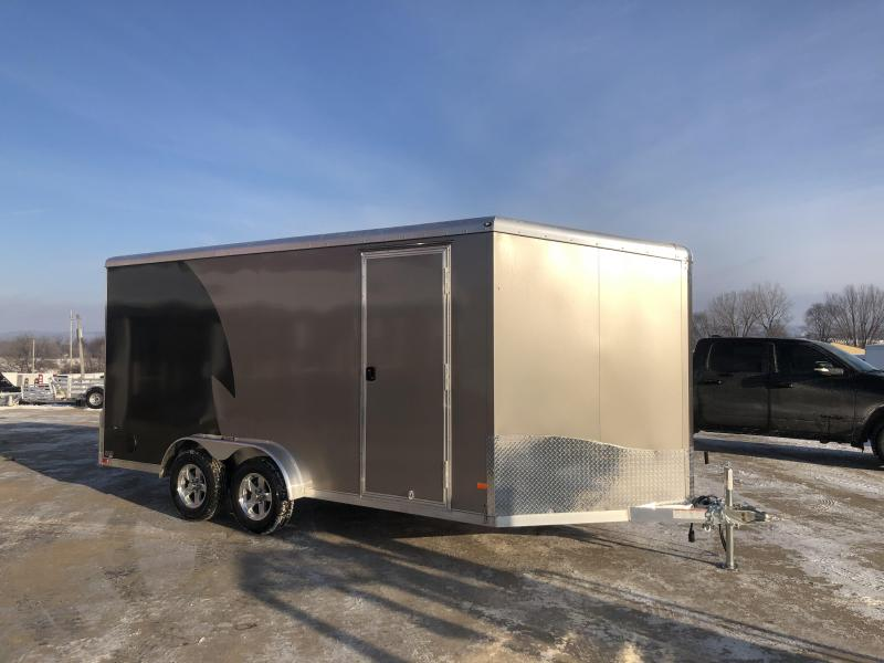 2020 NEO Trailers 7.5X16 Aluminum Enclosed Cargo Trailer