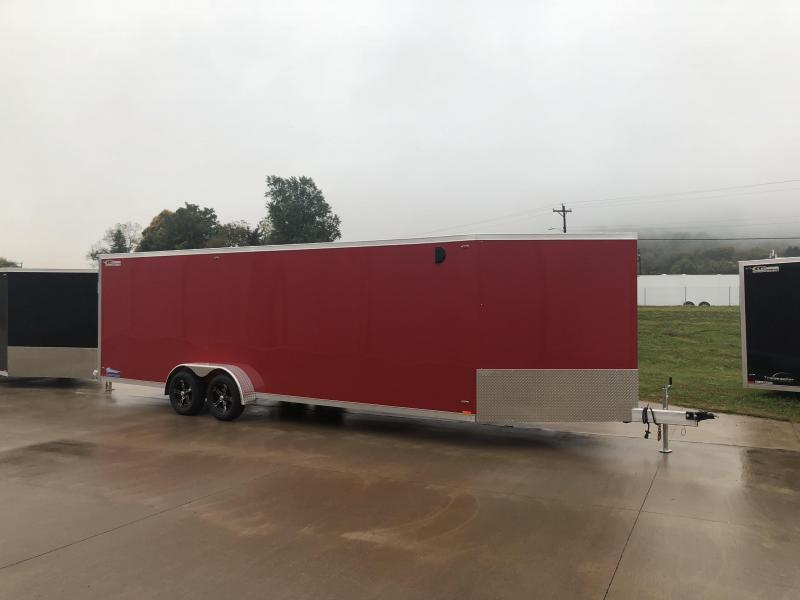 2019 Legend Manufacturing 7X29 Thunder Inline Snowmobile Trailer