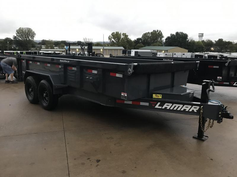 2020 Lamar Trailers 83X16 Low Pro Dump Trailer