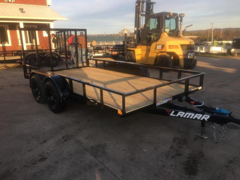 2020 Lamar Trailers 83X14 Tandem Utility Trailer