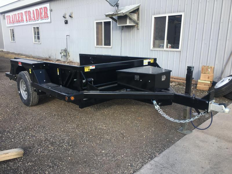 2020 B-B 76X10 Drop Down Equipment Trailer