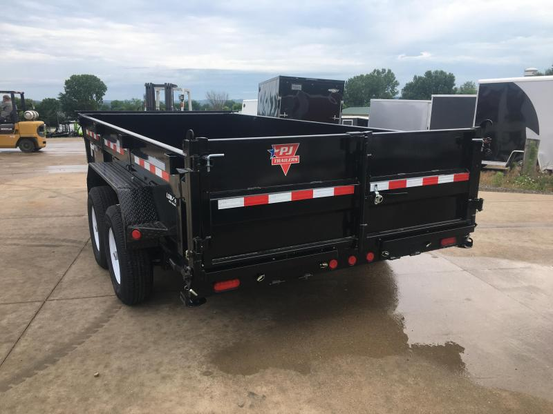 2020 Closeout Trailers 83x14 PJ Trailers Low Pro Dump ... on trailer generator, trailer mounting brackets, trailer fuses, trailer brakes, trailer hitch harness, trailer plugs,