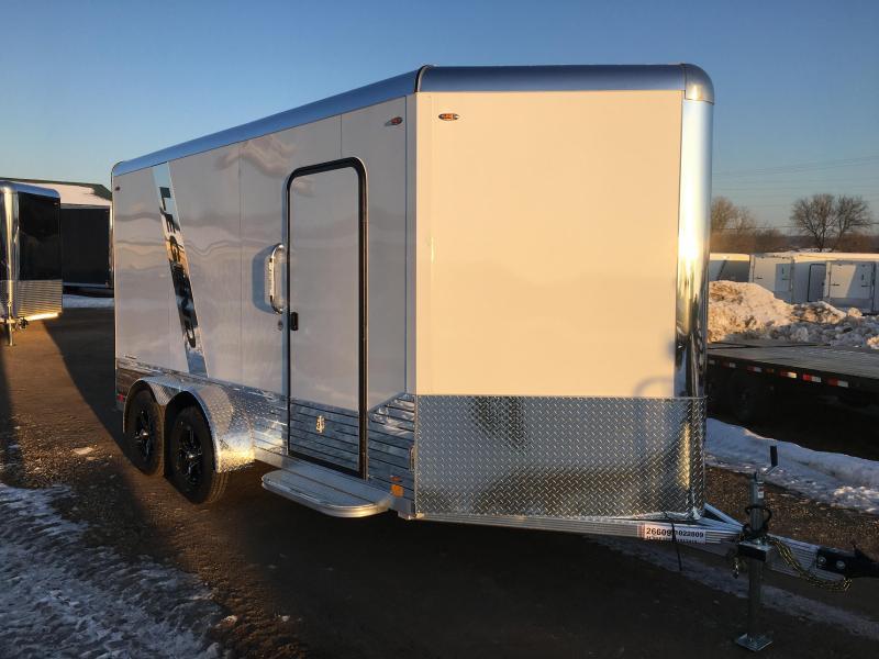 2020 Legend Manufacturing 7X14 Aluminum DVN Enclosed Cargo Trailer