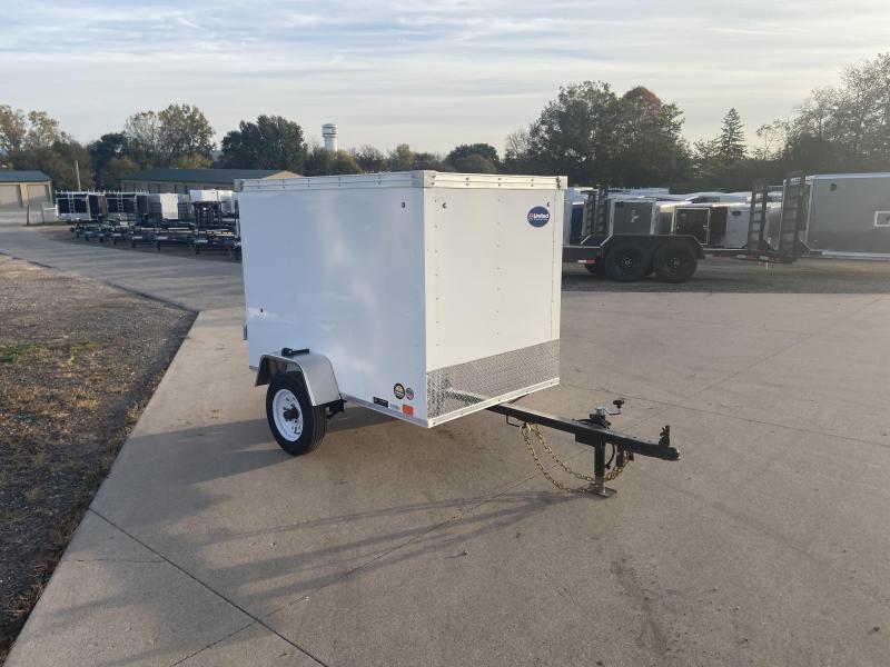 2020 United Trailers 4X6 Enclosed Cargo Trailer