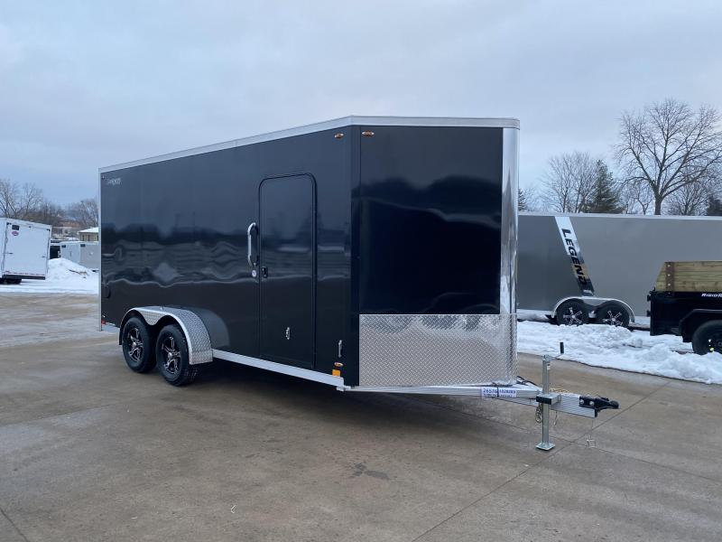 2020 Legend Manufacturing 7X16 FTV Aluminum Enclosed Cargo Trailer